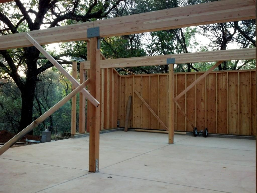 Barn beams and columns