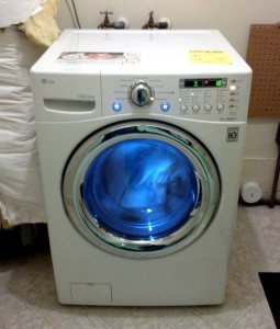Washer installed